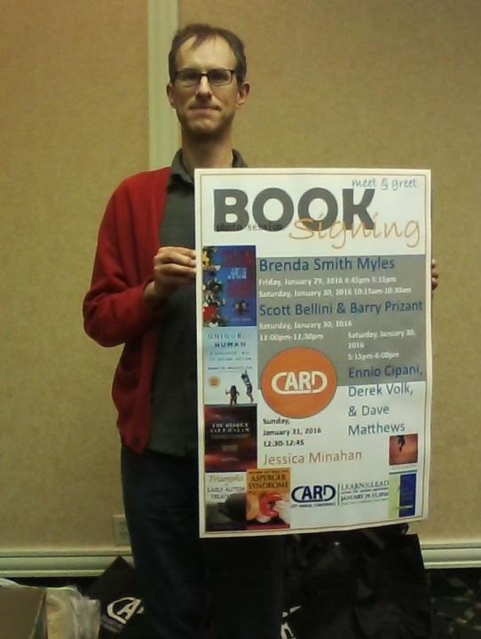 DVM book signing, Florida Hotel, Orlando, FL, 1-30-16